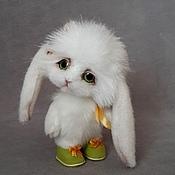 Куклы и игрушки ручной работы. Ярмарка Мастеров - ручная работа зайка Ева. Handmade.