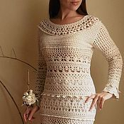 Одежда handmade. Livemaster - original item Dress crochet