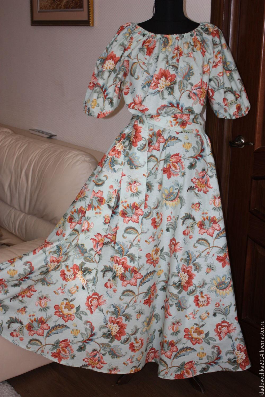 """Платья ручной работы. Ярмарка Мастеров - ручная работа. Купить Платье """"Жар-птица бирюза"""". Handmade. Бирюзовый, платье на выход"""