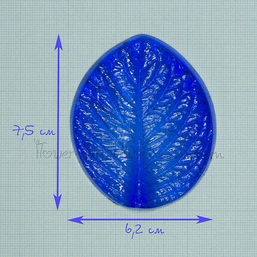 М021 Молд лист гортензии малый (универсальный)