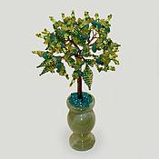 handmade. Livemaster - original item Tree of amazonite and chrysoprase