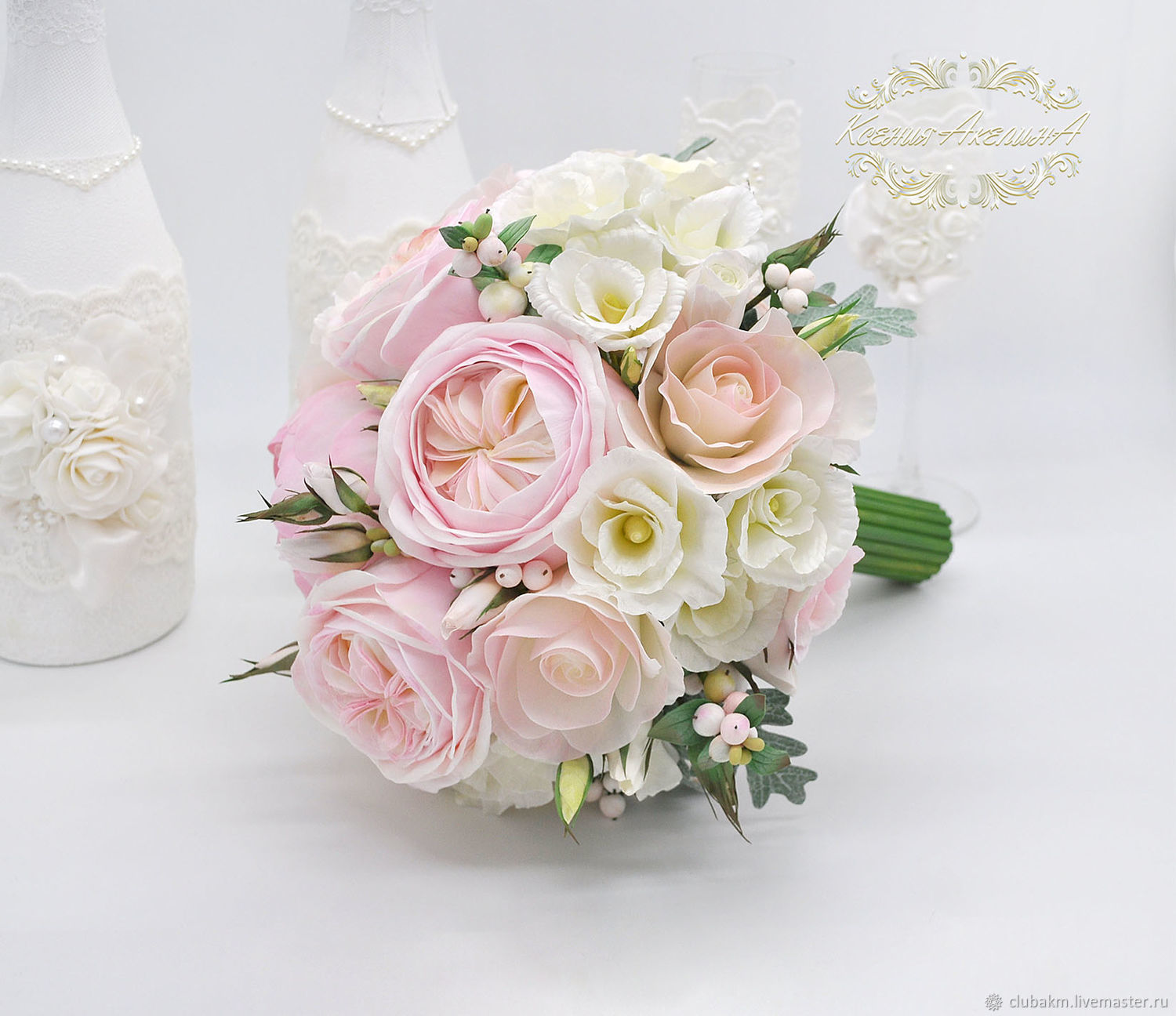 Pink bouquet, Wedding bouquets, Chelyabinsk,  Фото №1