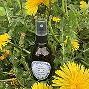 Косметика ручной работы handmade. Livemaster - original item Oily and combination natural dandelion Flowers. Handmade.