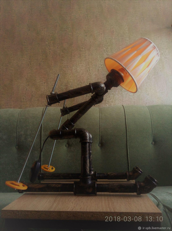 """Лофт светильник """"Лыжник"""", Светильники, Санкт-Петербург, Фото №1"""