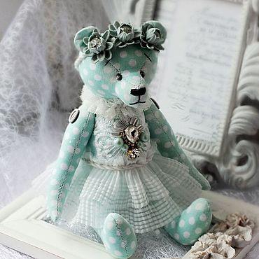 """Куклы и игрушки ручной работы. Ярмарка Мастеров - ручная работа Мишки из ткани """"Mint Princess"""". Handmade."""