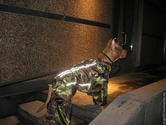 Одежда для собак, ручной работы. Ярмарка Мастеров - ручная работа. Купить Комбинезон  для собаки камуфляжный . на заказ.. Handmade. одежда для животных