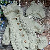 Работы для детей, handmade. Livemaster - original item Knit kit. knitted to extract a set.. Handmade.