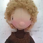 Куклы и игрушки ручной работы. Ярмарка Мастеров - ручная работа Интерьерная текстильная кукла Малышка Лёля. Handmade.