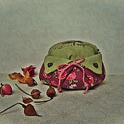 """Сувениры и подарки ручной работы. Ярмарка Мастеров - ручная работа Саше-игольница """" В саду"""". Handmade."""