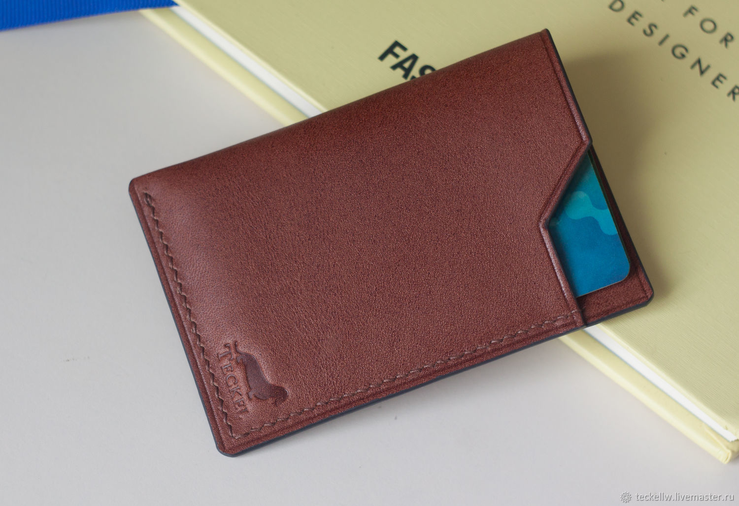 Cardholder, business card holder made of genuine leather, Business card holders, Moscow,  Фото №1