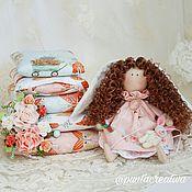 Куклы и игрушки ручной работы. Ярмарка Мастеров - ручная работа Принцесса на горошине Заюшка. Handmade.