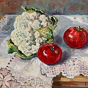 Картины и панно handmade. Livemaster - original item Pictures: Oil Painting Still Life