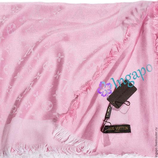 """Другие виды рукоделия ручной работы. Ярмарка Мастеров - ручная работа. Купить Платок  """"Розовые Розы"""". Handmade. Розовый"""