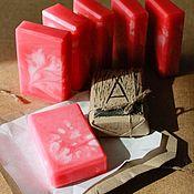 Косметика ручной работы handmade. Livemaster - original item Soap VII with avocado and lavender oil 115-118 g. Handmade.