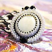 Украшения handmade. Livemaster - original item Jewelry set beaded