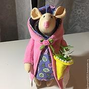 Куклы и игрушки ручной работы. Ярмарка Мастеров - ручная работа мышка тильда. Handmade.