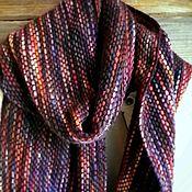 Аксессуары ручной работы. Ярмарка Мастеров - ручная работа Plump cozy scarf. Handmade.