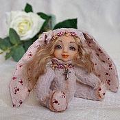 Куклы и игрушки ручной работы. Ярмарка Мастеров - ручная работа Заинька (Teddy-doll). Handmade.
