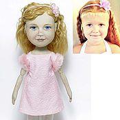 Куклы и игрушки ручной работы. Ярмарка Мастеров - ручная работа Портретная кукла, девочка. Handmade.