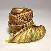 Материалы для творчества handmade. Livemaster - original item Silk ribbon Shibori N 135. Handmade.
