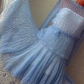 """Одежда ручной работы. Ярмарка Мастеров - ручная работа Ажурный костюм """"Нежнее облака"""" ручной работы. Handmade."""