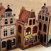 """Для дома и интерьера ручной работы. Ярмарка Мастеров - ручная работа Чайный домик """"Где живет Андерсен?"""". Handmade."""