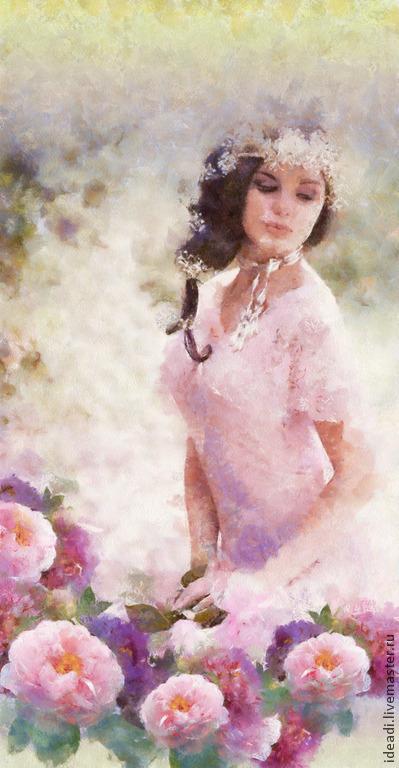 `Нежность` цифровой портрет по фото. Дарья (ideaDi)