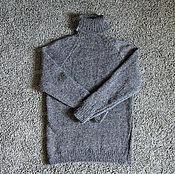 Одежда handmade. Livemaster - original item Sweater knitted of 100% sheep wool (No. №24). Handmade.
