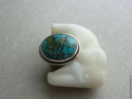 """Кольца ручной работы. Ярмарка Мастеров - ручная работа. Купить Кольцо """"Бирюза"""". Handmade. Голубой, натуральный камень, ювелирные украшения"""