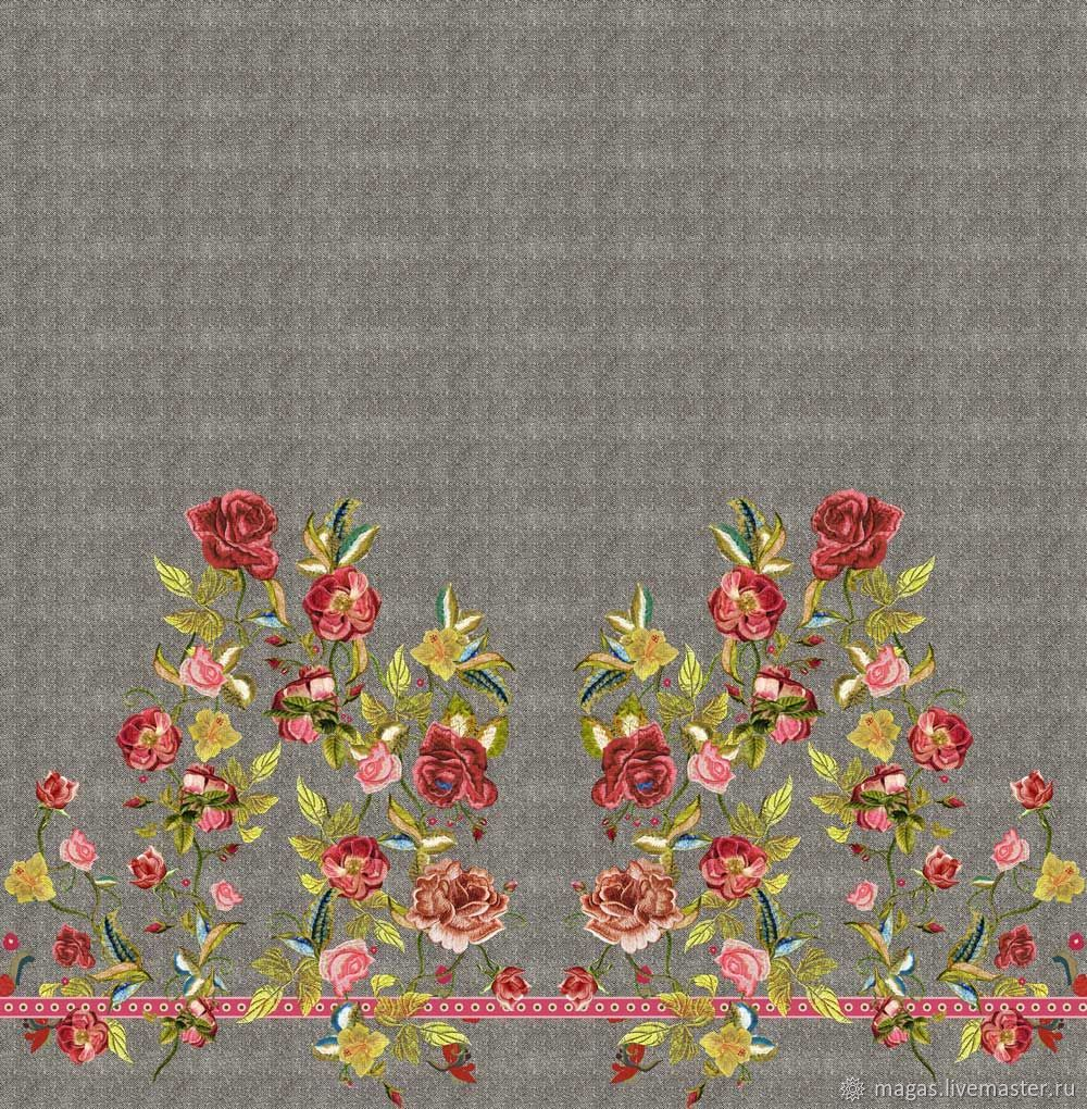 JERSEY ROSE - ITALY, Fabric, Moscow,  Фото №1