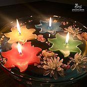 Свечи ручной работы. Ярмарка Мастеров - ручная работа Плавающая свеча Звезда. Handmade.