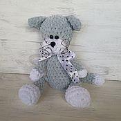 Куклы и игрушки handmade. Livemaster - original item Soft toys: knitted kitty.. Handmade.