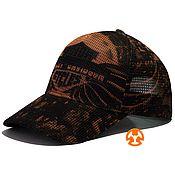 Аксессуары handmade. Livemaster - original item Fullprint baseball cap made of high-quality mesh. Handmade.