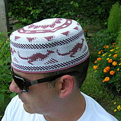 """Одежда ручной работы. Ярмарка Мастеров - ручная работа Летняя шапка  """"Кенгуру 1"""". Handmade."""