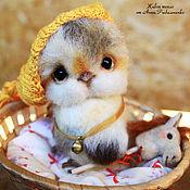 Куклы и игрушки ручной работы. Ярмарка Мастеров - ручная работа Цыпленок Наполеончик. Handmade.