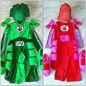 Одежда ручной работы. Ярмарка Мастеров - ручная работа Фиксики (готовые костюмы) Мася и Папус. Handmade.
