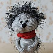 Куклы и игрушки ручной работы. Ярмарка Мастеров - ручная работа Ёжик. Вязаная игрушка Ёж. Handmade.