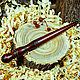 Wooden glomerulus winding of Siberian Cedar wood for yarn KL6, Spindle, Novokuznetsk,  Фото №1