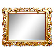 Зеркала ручной работы. Ярмарка Мастеров - ручная работа Зеркало в стиле Прованс. Handmade.