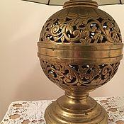 Лампа латунь Tiffany