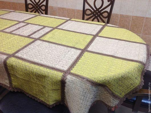 Текстиль, ковры ручной работы. Ярмарка Мастеров - ручная работа. Купить - 50%. Скатерть 1,55х2,25. Handmade. Скатерть
