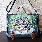 Сумки и аксессуары handmade. Livemaster - original item Leather bag made to Order For Irina. Handmade.