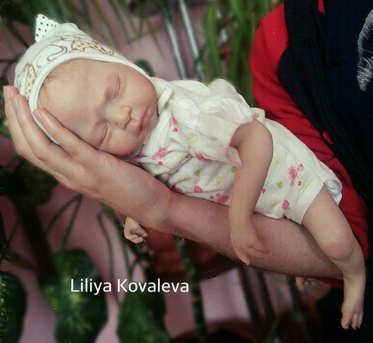 """Куклы-младенцы и reborn ручной работы. Ярмарка Мастеров - ручная работа. Купить Кукла реборн """"принцесса Лея"""" сплюшечка.. Handmade."""