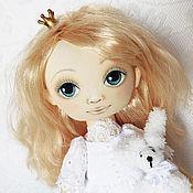 Куклы и пупсы ручной работы. Ярмарка Мастеров - ручная работа Танюшка. Игровая или интерьерная текстильная кукла. Handmade.