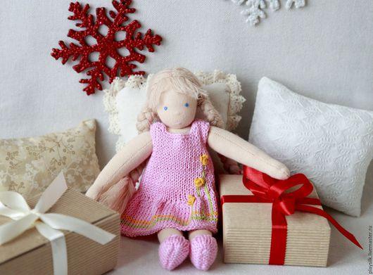 Вальдорфская игрушка ручной работы. Ярмарка Мастеров - ручная работа. Купить Вальдорфская кукла Алиса 21 см. Handmade.