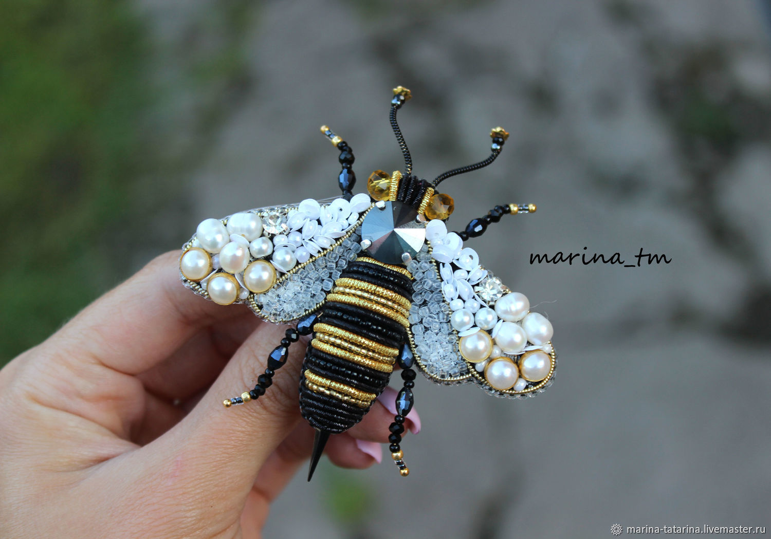 'Bee ' brooch, Brooches, Eniseisk,  Фото №1