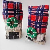 Домики ручной работы. Ярмарка Мастеров - ручная работа Домик новогодний игрушка для декора. Handmade.