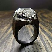 Украшения ручной работы. Ярмарка Мастеров - ручная работа Деревянное кольцо 17 размер, кольцо из дерева. Handmade.