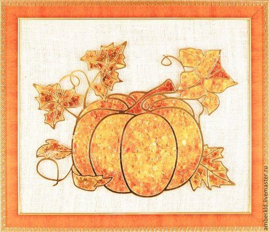 Спелая сочная тыква всегда создаст теплое оранжевое настроение в интерьере кухни, прихожей, гостиной или дачи! Тыква всегда считалась символом изобилия и благополучия!