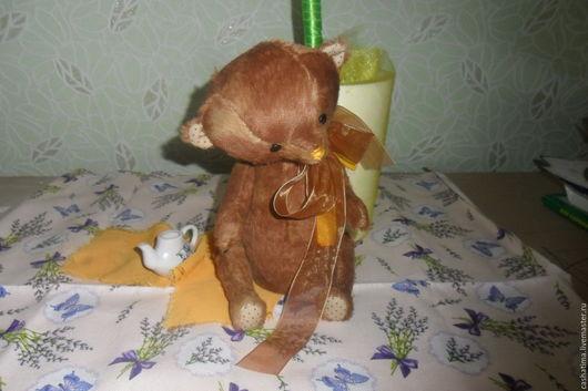 Мишки Тедди ручной работы. Ярмарка Мастеров - ручная работа. Купить миша Габриэль))). Handmade. Коричневый, мишка в подарок, плюш
